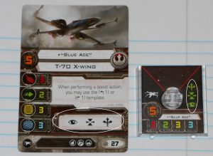 X wing action Bar