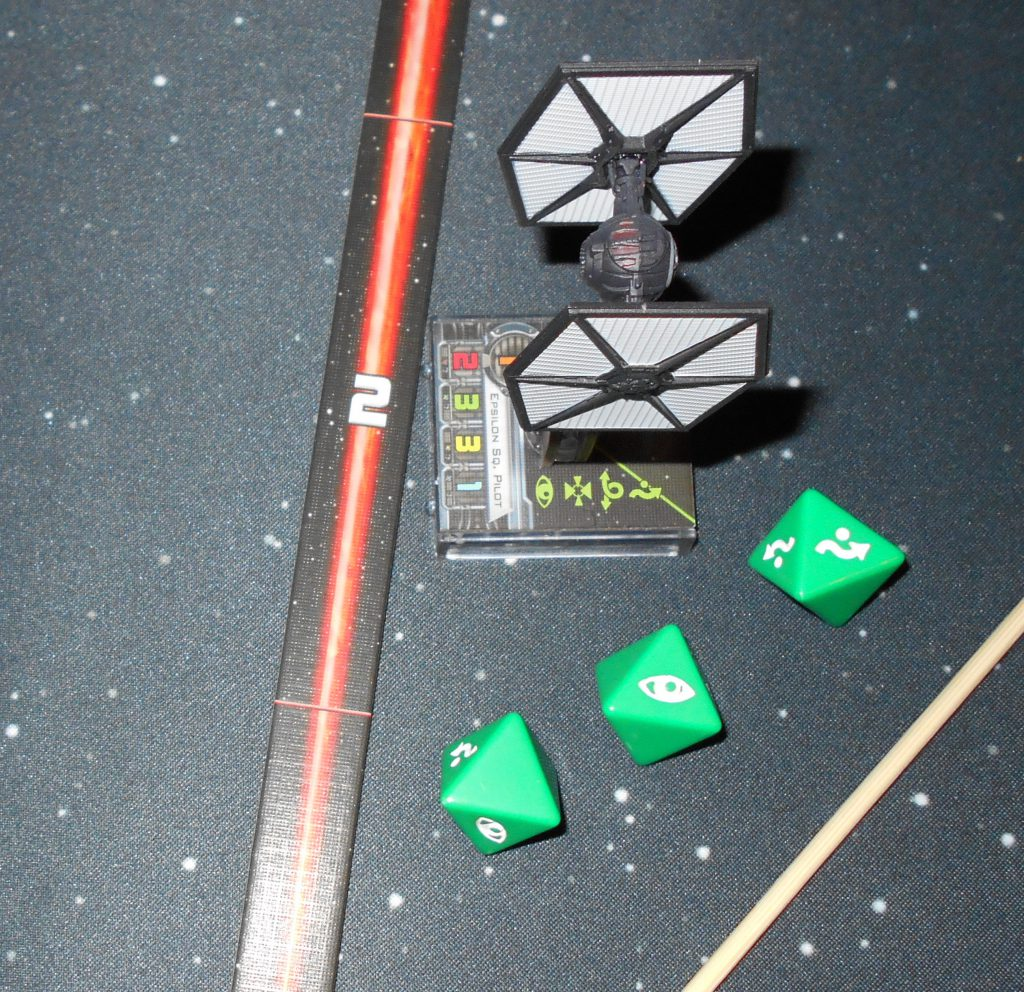tie fighter's defense dice